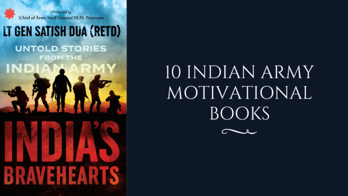 10 Indian Army motivational books