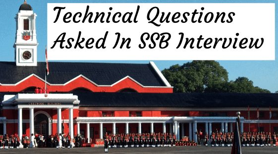 technical questions ssb
