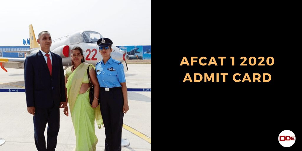 afcat 1 2020 admit card