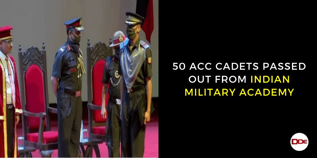 acc cadets passing out parade