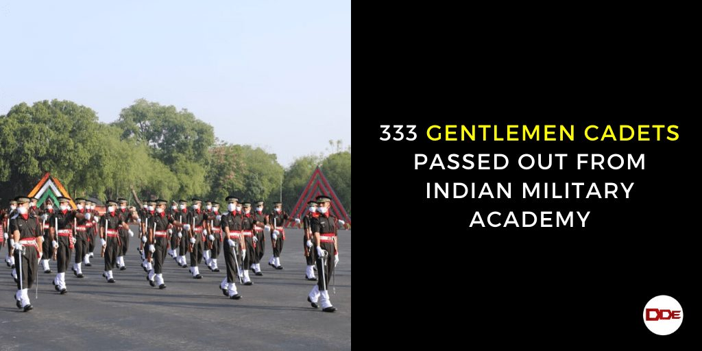 indian military academy passing out parade