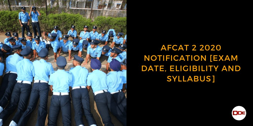 afcat 2 2020 notification