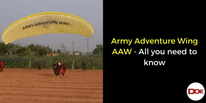 Army Adventure Wing AAW - All you need to know