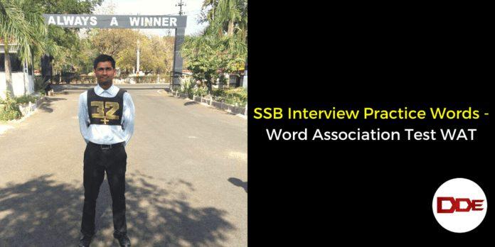 Word Association Test WAT