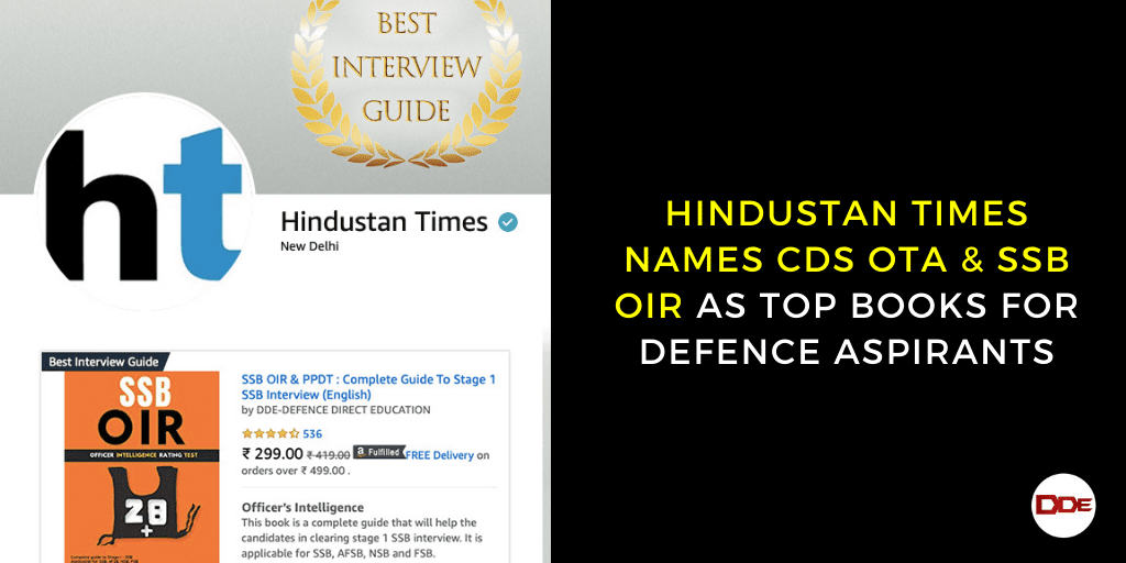 hindustan times top books for defence aspirants