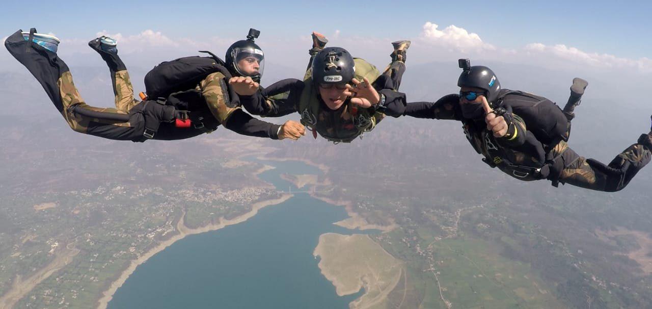 combat free fall training