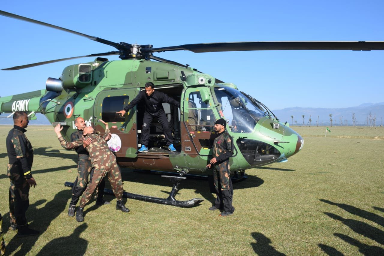 special forces training school indian army