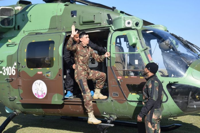 turkmenistan special forces training india