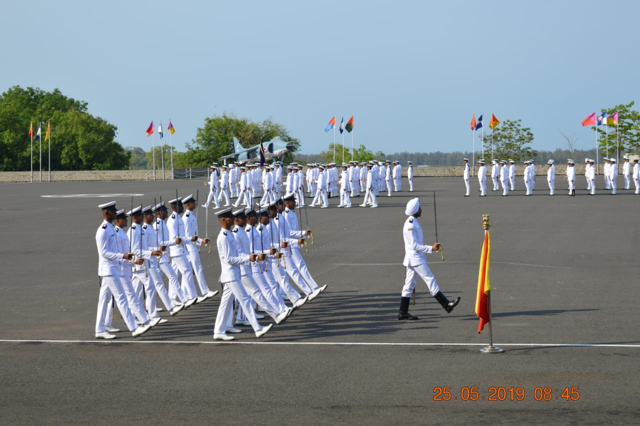 ina passing out parade