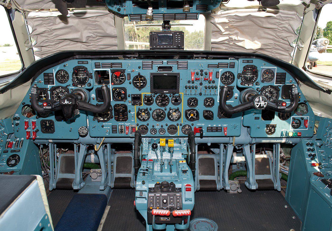 Antonov AN 32 Cockpit images