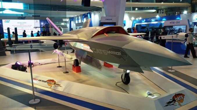 HAL CATS Warrior UAV