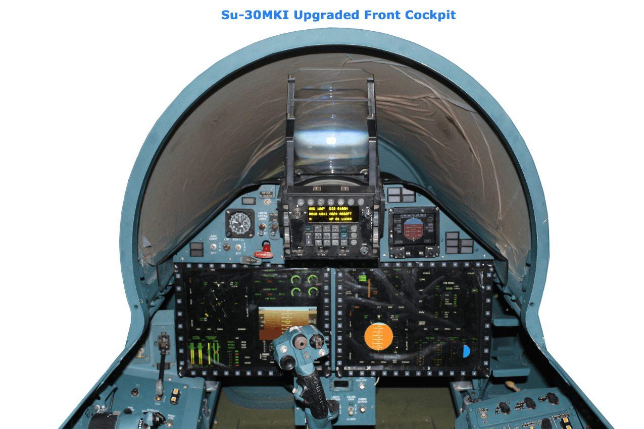 Sukhoi 30 Mki Cockpit