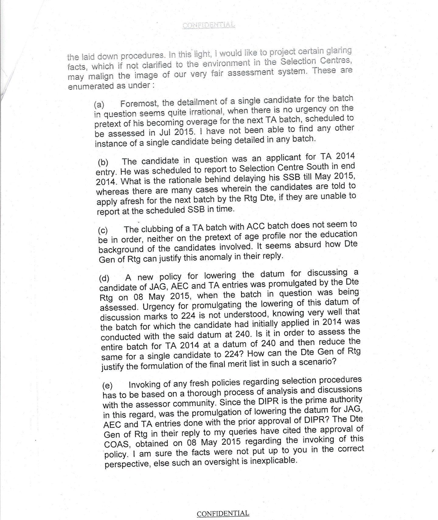 territorial army ssb scam