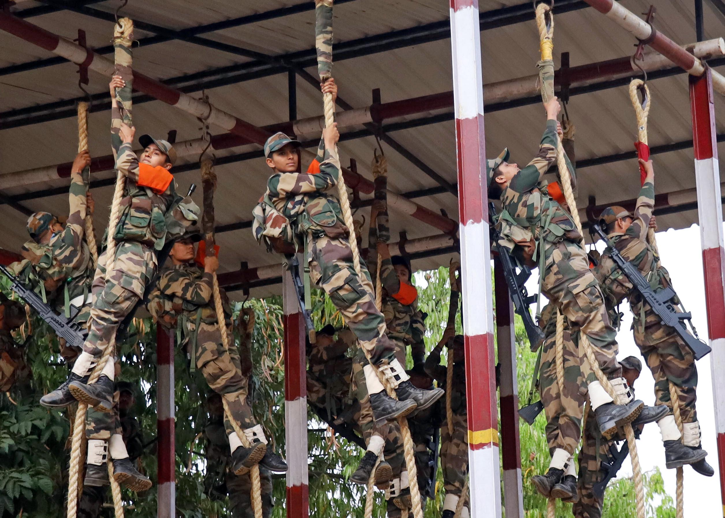 women military police training