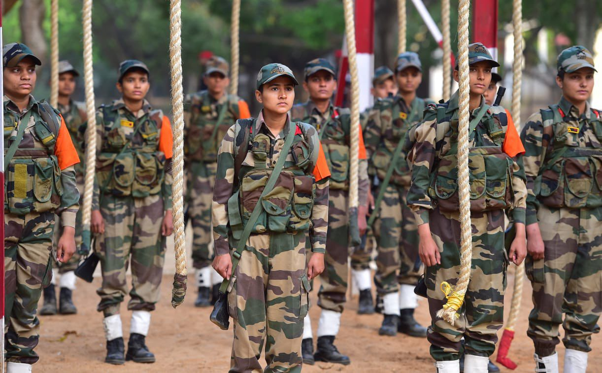 cmp passing out parade
