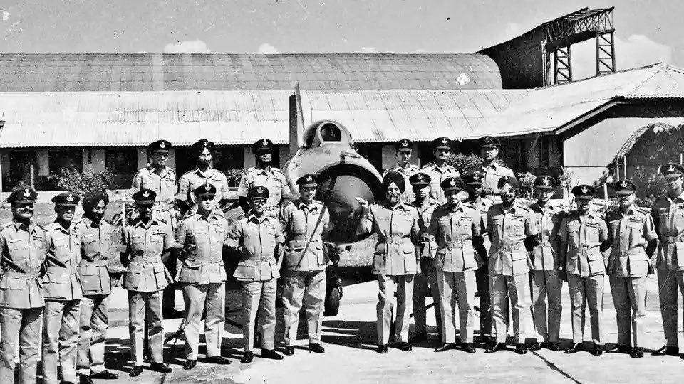arjan singh marshal indian air force