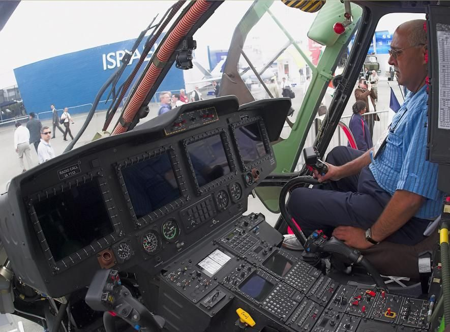 HAL Dhruv/Rudra Helicopter Cockpit