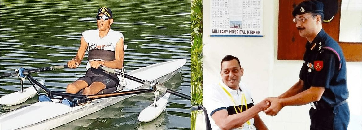 Rowing ParalympicsIndian Air Force World Rowing Asia