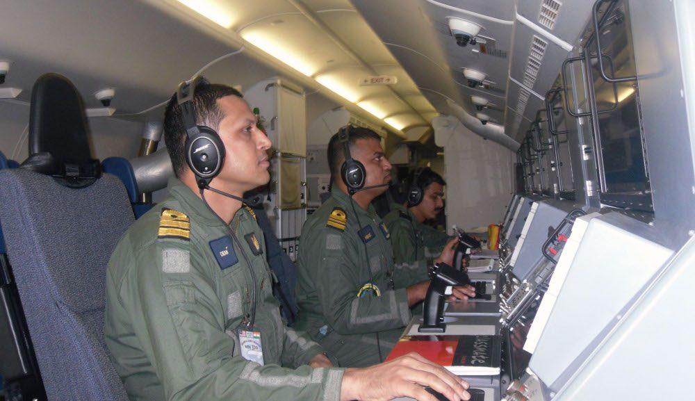 Indian Navy Observers INS Garuda