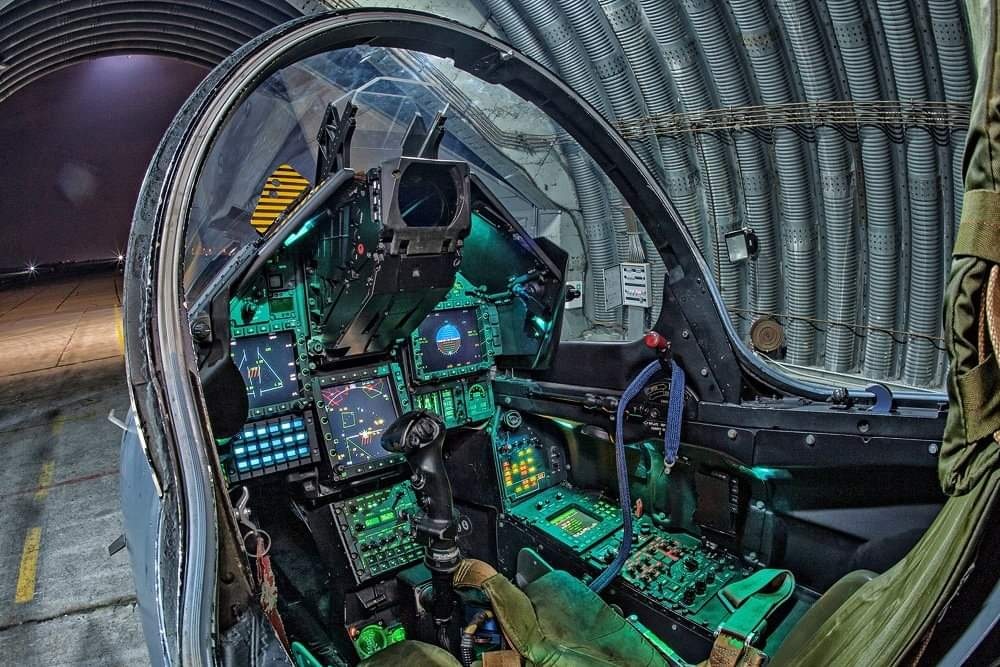 Dassault Mirage 2000 Cockpit