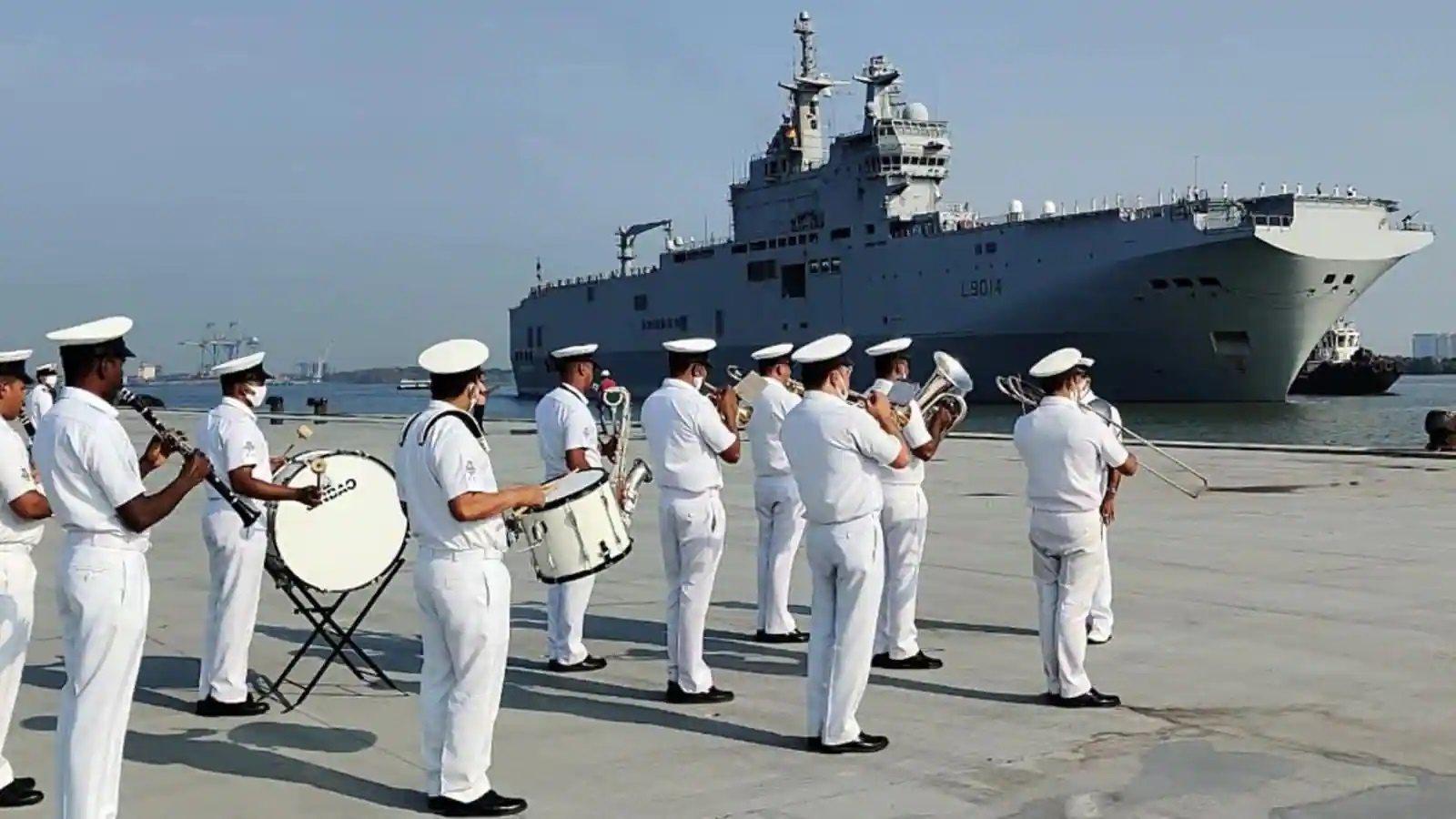La Pérouse Maritime Exercise Indian Ocean Region