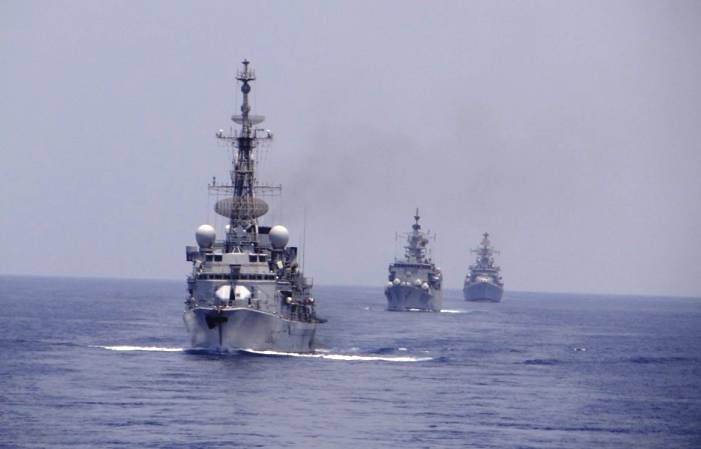 bilateral Naval exercise VARUNA 2021 French Navy