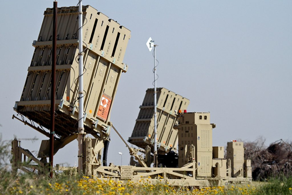 Israeli Defence Forces air defence systems