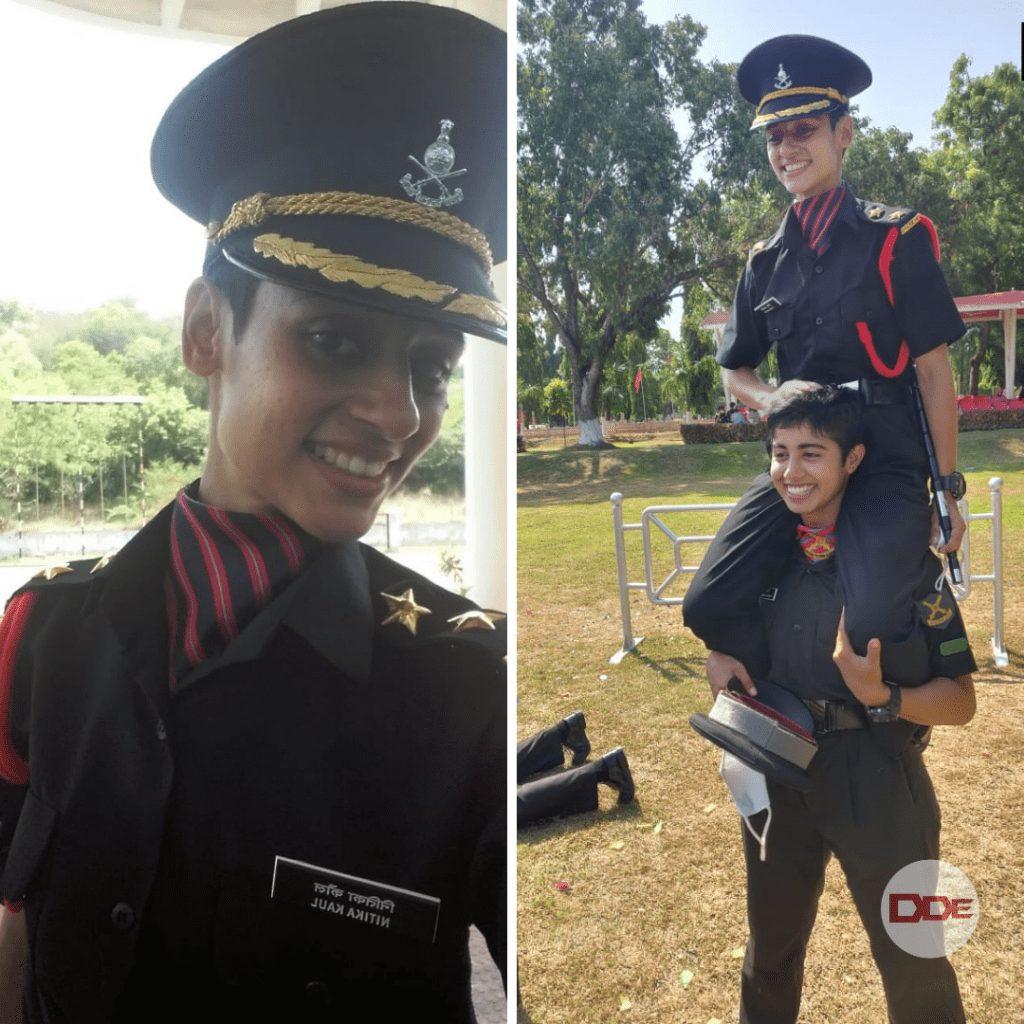 lt nitika kaul indian army