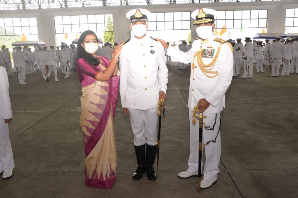 indian naval academy passing out parade 2021