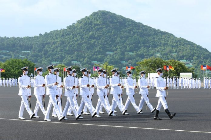 indian naval academy passing out parade
