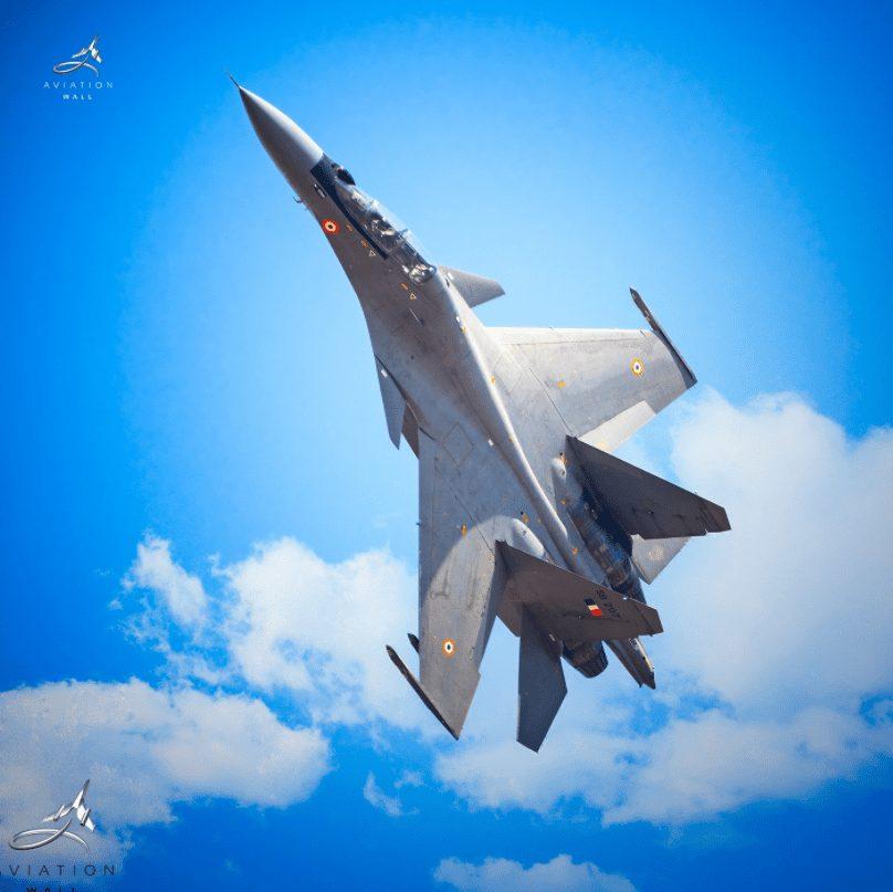 Sukhoi 30 MKI Vertical