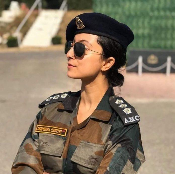 captain deepsikha chettri indian army