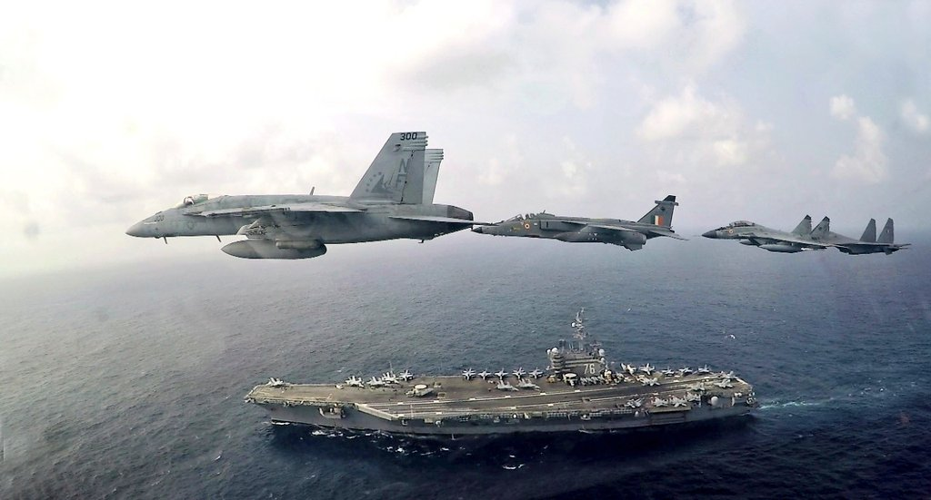 India and US bilateral exercise
