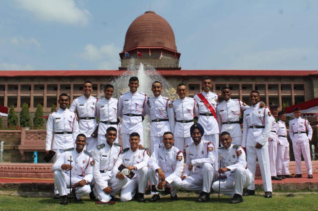 nda non-military background cadets