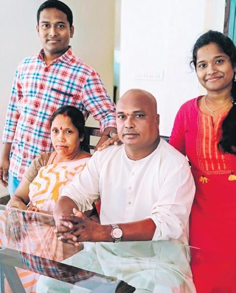 auto drivers son becomes officer