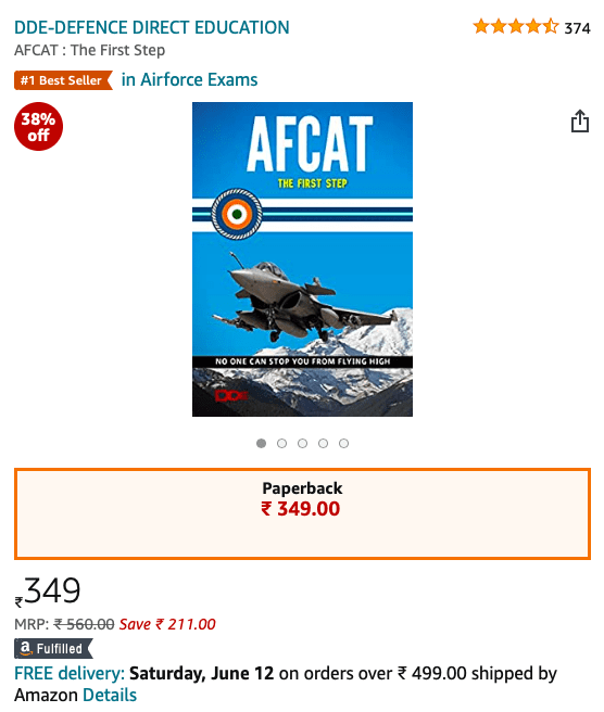 best afcat book