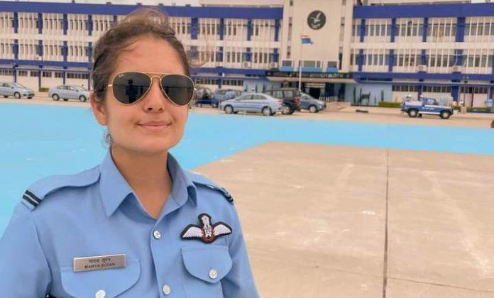 flying officer mawya sudan