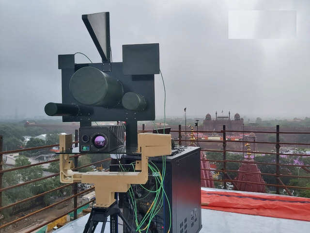 DRDO Anti-drone Technology India