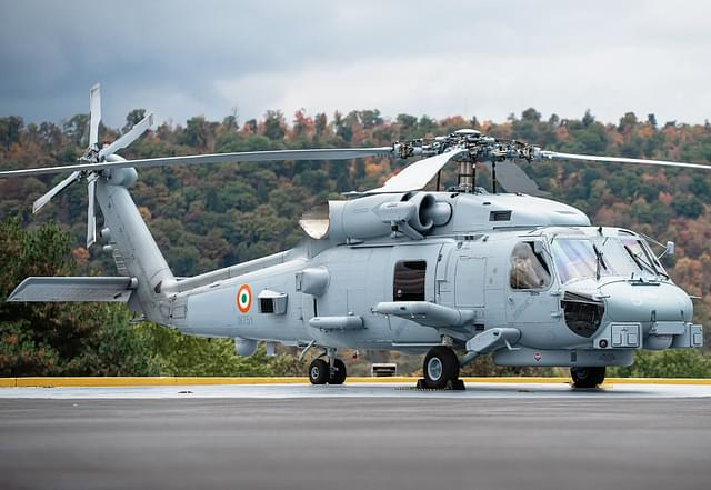MH-60R Helicopters Indian Navy