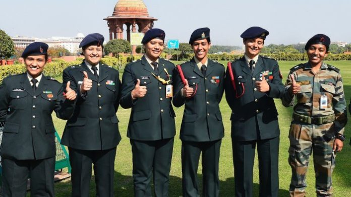 colonel rank women officers
