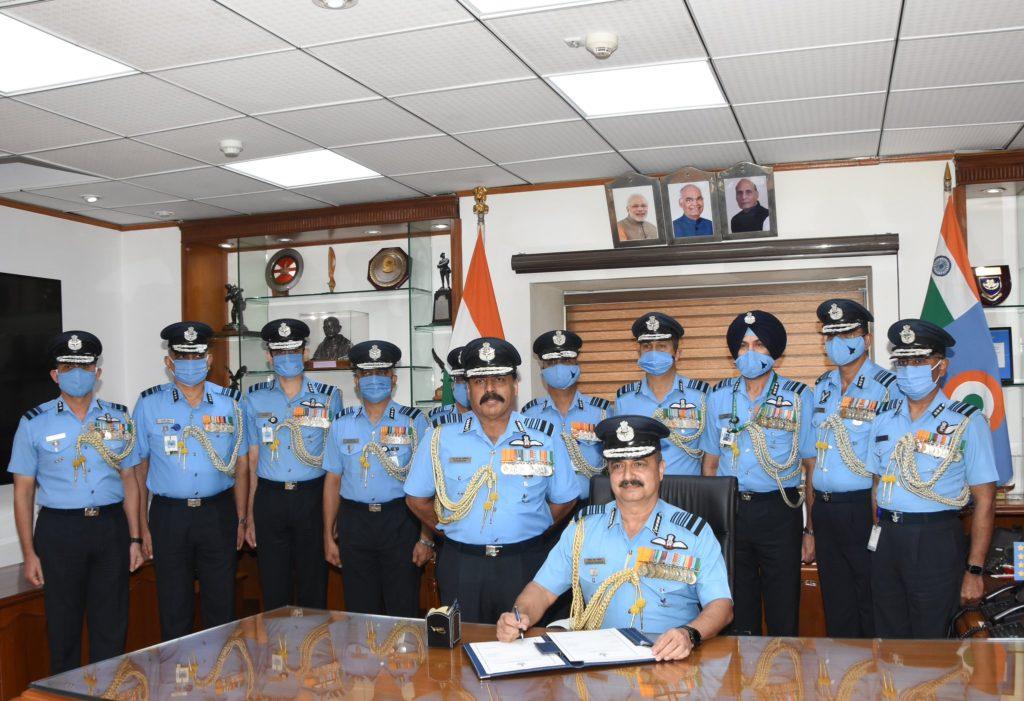 Air Marshal VR Chaudhari Indian Air Force Chief