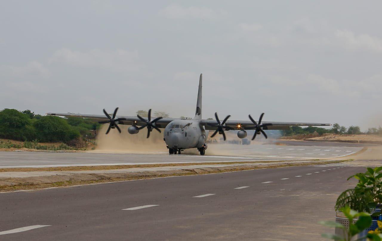C-130J Barmer Landing