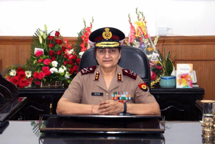 Major General Smita Devrani ADG Of Military Nursing Service